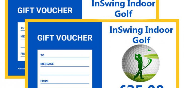 InSwing golf gift vouchers